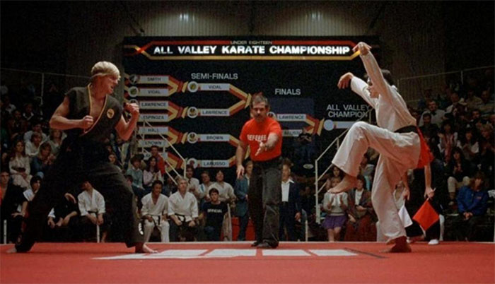 Video del ensayo de la pelea final de Karate Kid se viraliza  | VIDEO