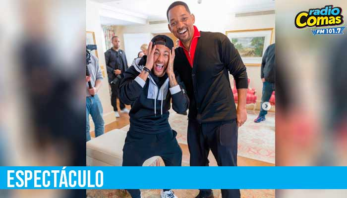 El tan ansiado encuentro de Neymar y Will Smith